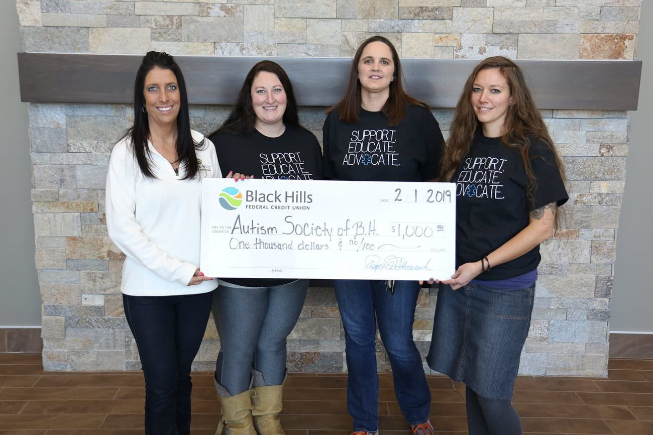 Black Hills FCU Employees Support Nonprofits in January 2019 Image