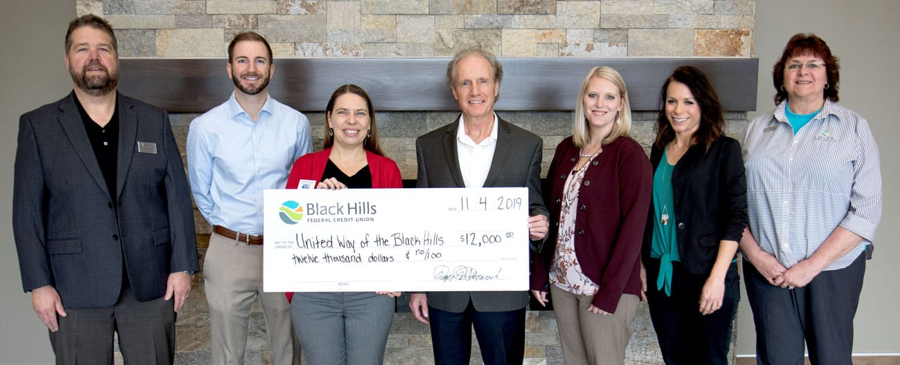 Black Hills FCU Supports United Way of the Black Hills Image