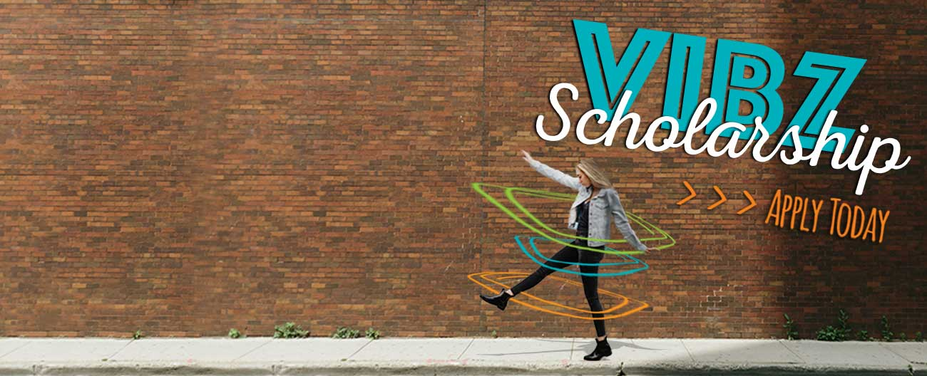 VIBZ Scholarship Available Image