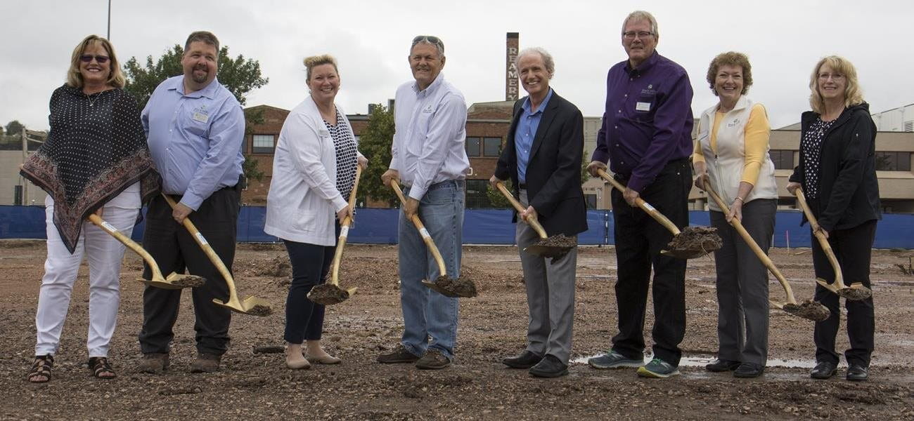 Black Hills FCU Breaks Ground on New Location in Downtown Rapid City Image